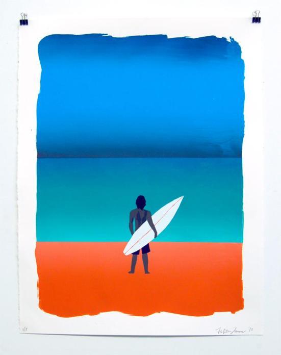 Seriagraph by artist Roberto Jamora