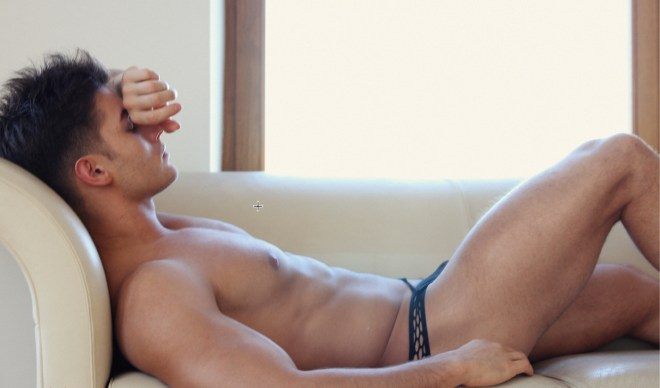 Anatoly Goncharov, fashion and fitness model from Russia
