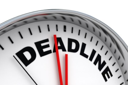 Can you meet this deadline?