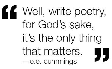 Poetry Matters e.e. cummings