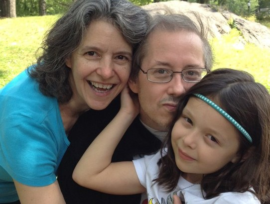 Rebecca Bratspies, B. Allen Shulz and their daughter Naomi