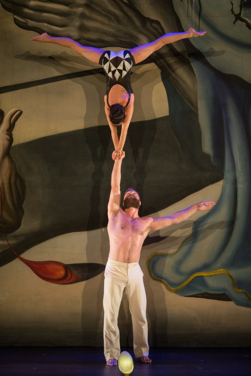 "TRUTH'S CIRCUS | In ""La Verita,"" six degrees of imagination dance with Salvador Dalí"
