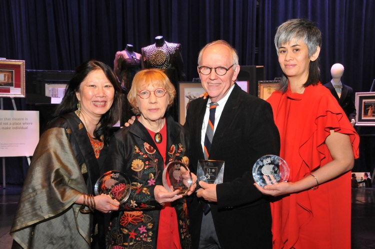 Awardees Susan Tsu, Liz Covey, Michael Yeargan, Suttirat Larlarb