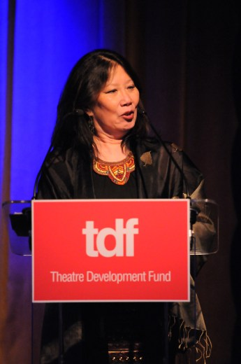 Costume designer Susan Tsu takes home a lifetime achievement award.
