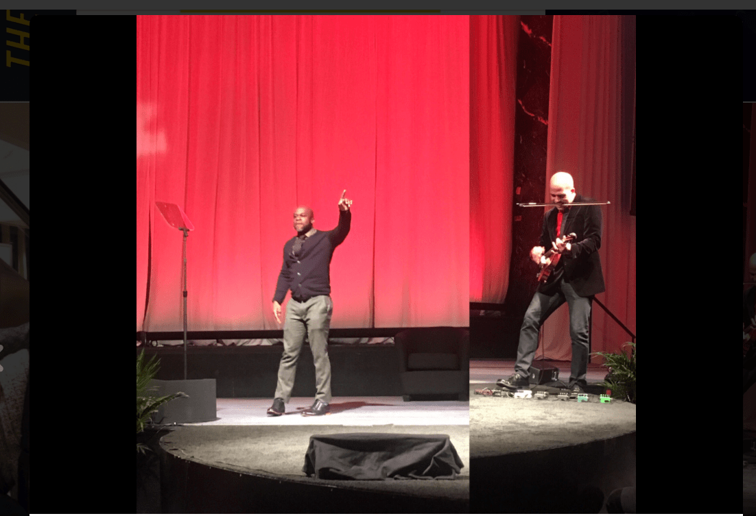 #APAPNYC 2017 kicks off with a creative moment by @DBRmusic and @bamuthi