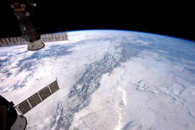 NASA Image of the Day: The Rocky Mountains From Earth's Orbit   Image credit: NASA   Last Updated: Jan. 10, 2017