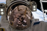 Jan. 13, 2017 — This astronaut took a space selfie. His name is Thomas Pesquet.