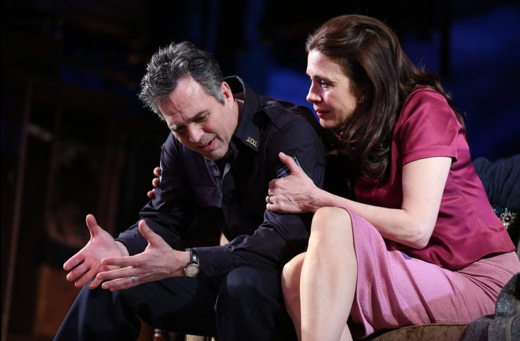 Mark Ruffalo and Jessica Hecht in THE PRICE on Broadway THE PRICE CAST Mark Ruffalo Victor Franz Tony Shalhoub Walter Franz Jessica Hecht Esther Franz Danny DeVito Gregory Solomon THE PRICE CREATIVE Arthur Miller Playwright Terry Kinney Director Derek McLane—Set Designer Sarah J. Holden—Costume Designer David Weiner—Lighting Designer Rob Milburn & Michael Bodeen—Sound Designers
