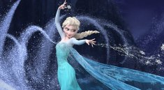 "Elsa Snowpowers in the film ""Frozen"""