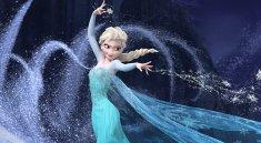 "Elsa Snowpowers in the film ""Frozen"""