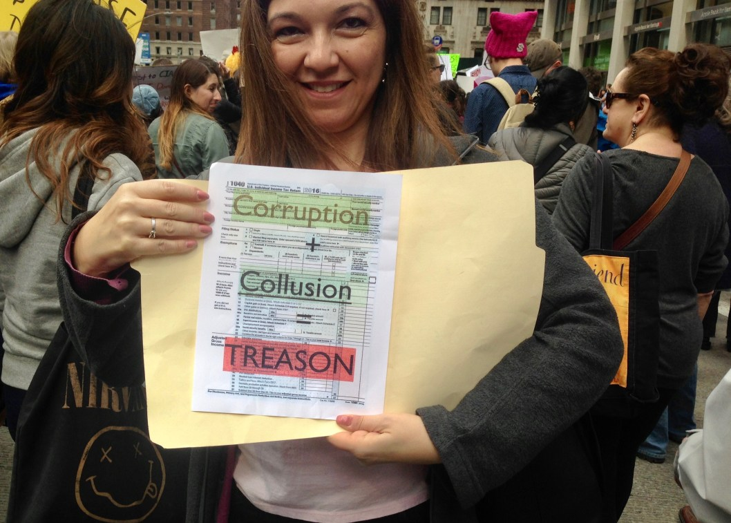 Tax March Fifth Avenue Saturday April 15, 2017 | Photo by Randy Gener