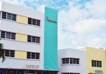 Architecture Art Deco Pastels In Miami