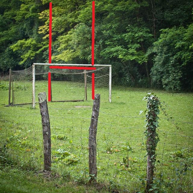 4 lieux où buter sans terrain de rugby