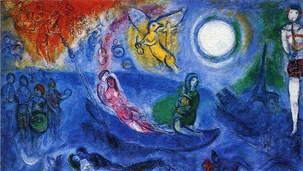 """Résultat de recherche d'images pour """"peinture biblique de marc chagall"""""""
