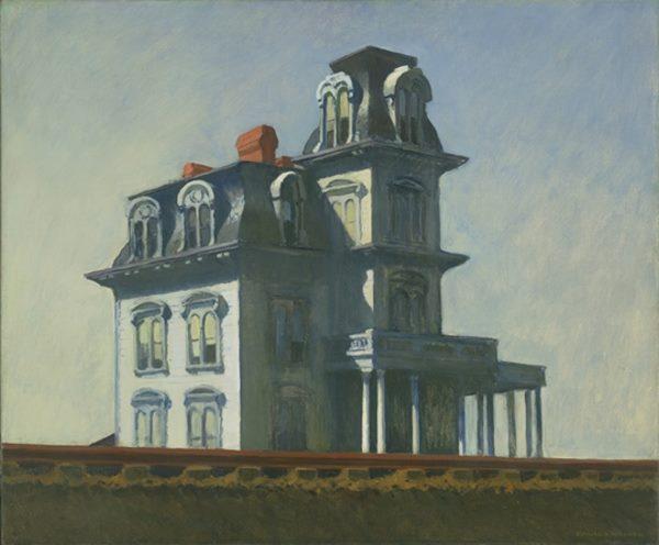 House by the Railroad, Edward Hopper exprime un sentiment de solitude