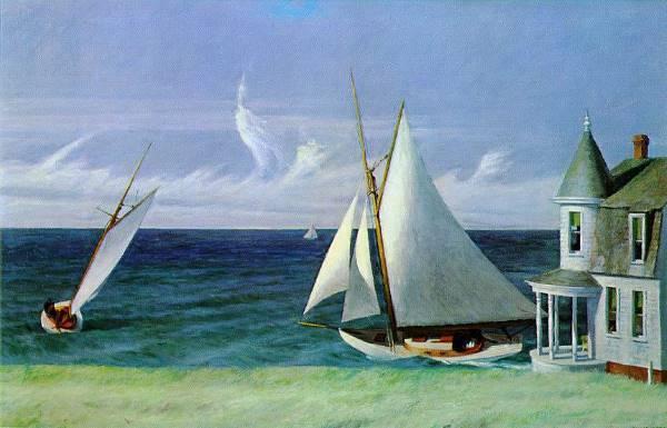 Les bateaux passion de Edward Hopper