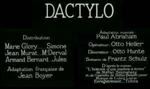 dactylo