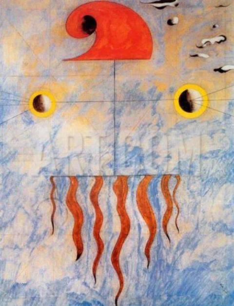 Tête de paysan catalan , imaginaire de Miró