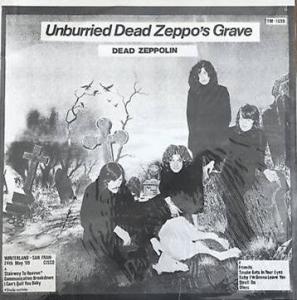 « Unburried Dead Zeppo's Grave »