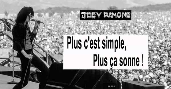 joey ramone citation
