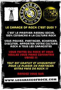 Le garage of Rock