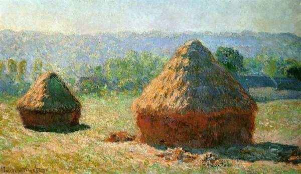 Meules de foin du peintre Monet