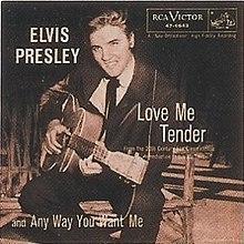Love me tender Elvis PRESLEY