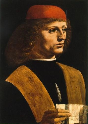 Portrait de L de Vinci