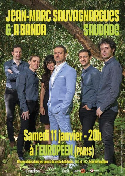 Saudade - Jean-MArc Sauvagnargues et A Banda