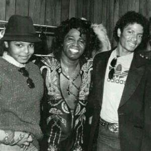 Janet Jackson, James Brown et Michael Jackson