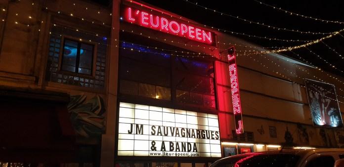 Façade L'Européen Jean-Marc Sauvagnargues