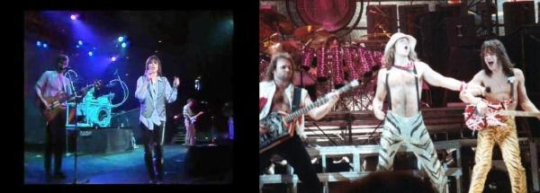 The pretenders Van Halen Pop and Rock around 1984