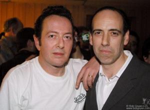 Strummer et Mick Jones