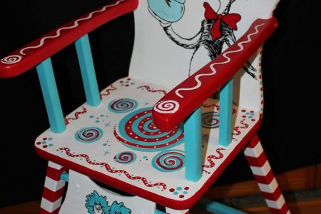 Cat in the Hat Highchair