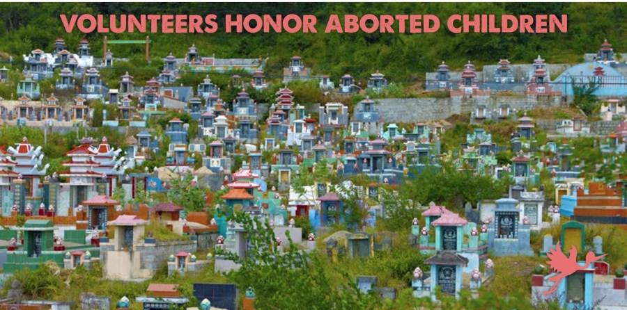Volunteers Honor Aborted Children
