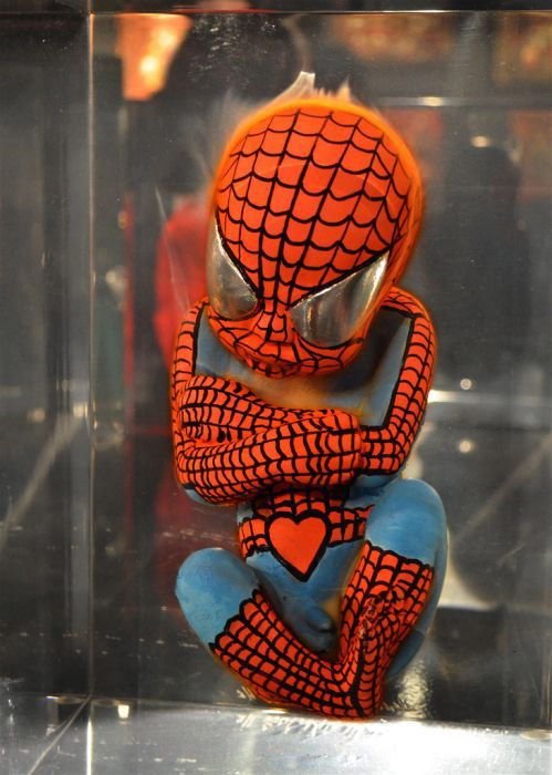 Superhero Fetus Spiderman