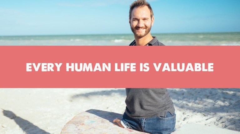 Every Human Life Is Valuable