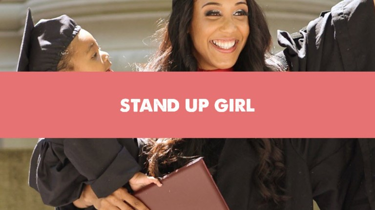 Stand Up Girl Pregnancy Support