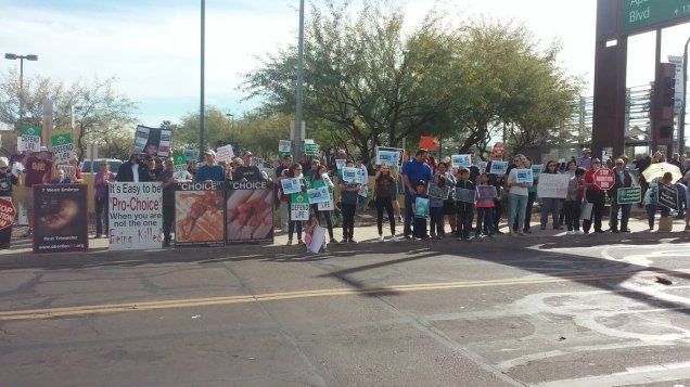 Protest Planned Parenthood