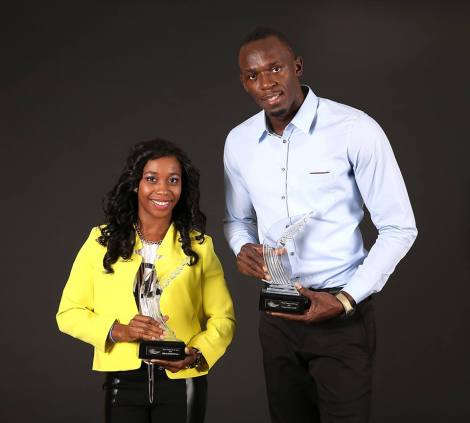 Culture Sport Usain Bolt Shelly-Ann Fraser-Pryce