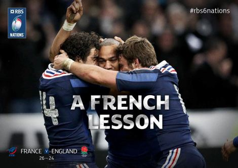 Culture Sport France-Angleterre rugby