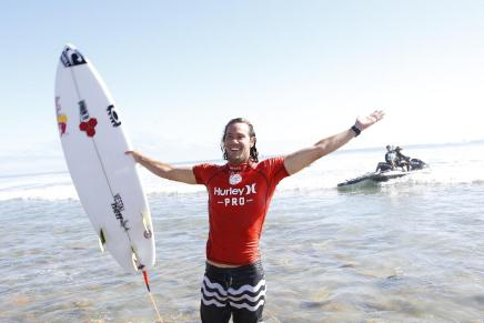 Jordy Smith remporte le Hurley Pro Trestles 2014
