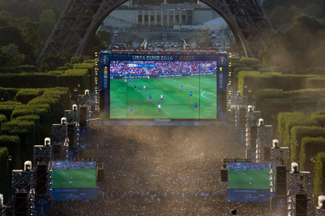cultureSPORT Euro 2016 fan zone Paris