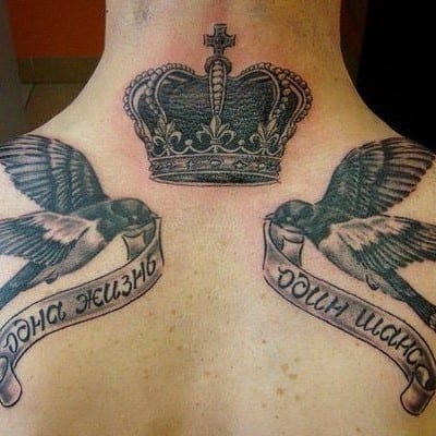 Tatuajes De Golondrinas Gran Clásico Del Old School