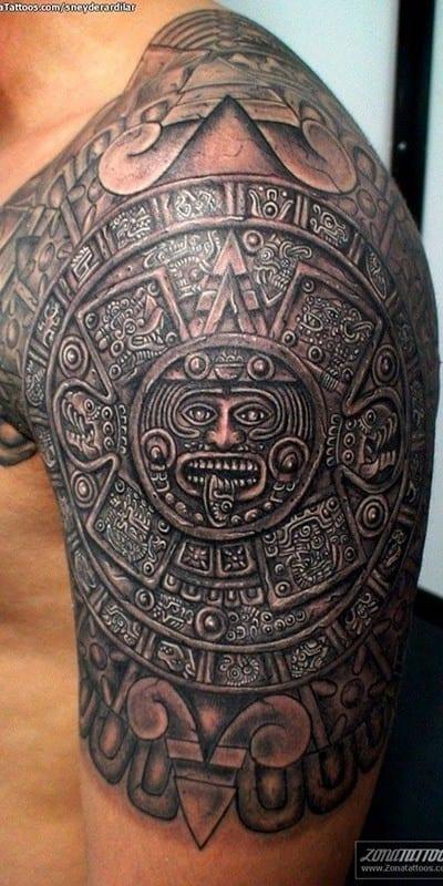 Tatuajes Aztecas Disfruta De Los Mejores Tatuajes Y Inspirate