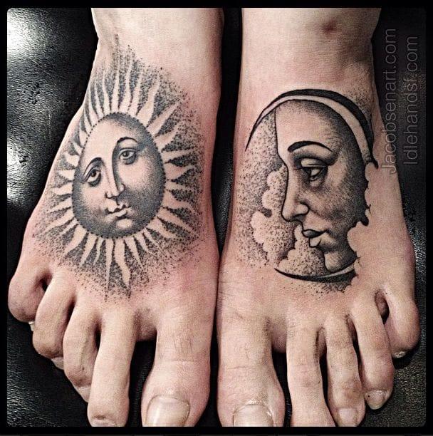 Tatuajes De Lunas Y Media Lunas Descubre Sus Significados Y Origen