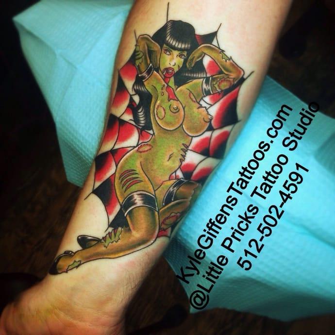 Tatuajes Pin Up Vuelve Con Fuerza La Chicas Pin Up