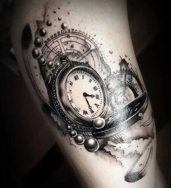 Tatuaje De Reloj Marca La Hora En Tu Piel Descubre Significados Y