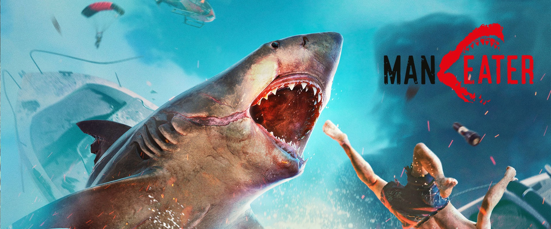 ManEater : Jeu de requins!