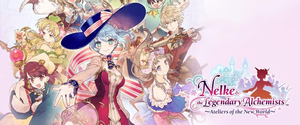 Nelke and the Legendary Alchemists